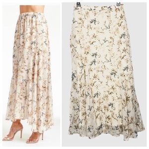 Anthropologie Drew Joslyn Floral Skirt